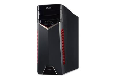 Vista lateral del ordenador de sobremesa Acer Aspire GX-281