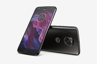 Vista general del móvil Motorola Moto X4