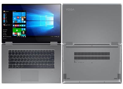 Vista general del portátil Lenovo Yoga 720