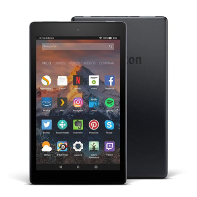 Vista general de la Tablet Fire HD 8