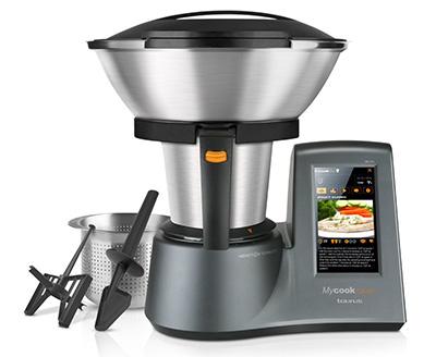 Vista general del robot de cocina Taurus Mycook Touch